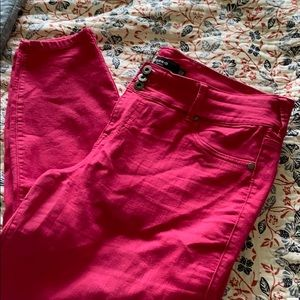 Torrid Red Jeggings
